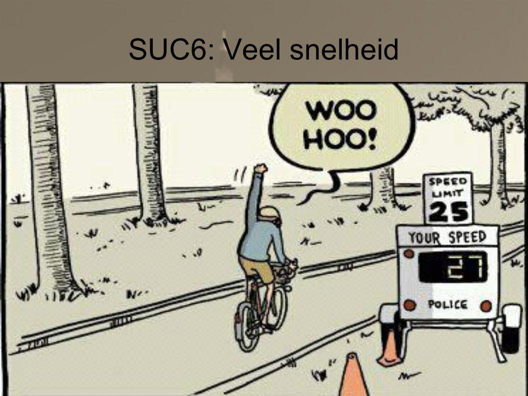 6 april 2013Tour du ALS18 SUC6: Veel snelheid