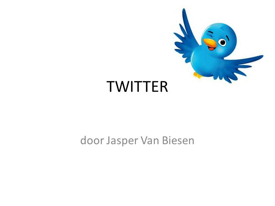 TWITTER door Jasper Van Biesen
