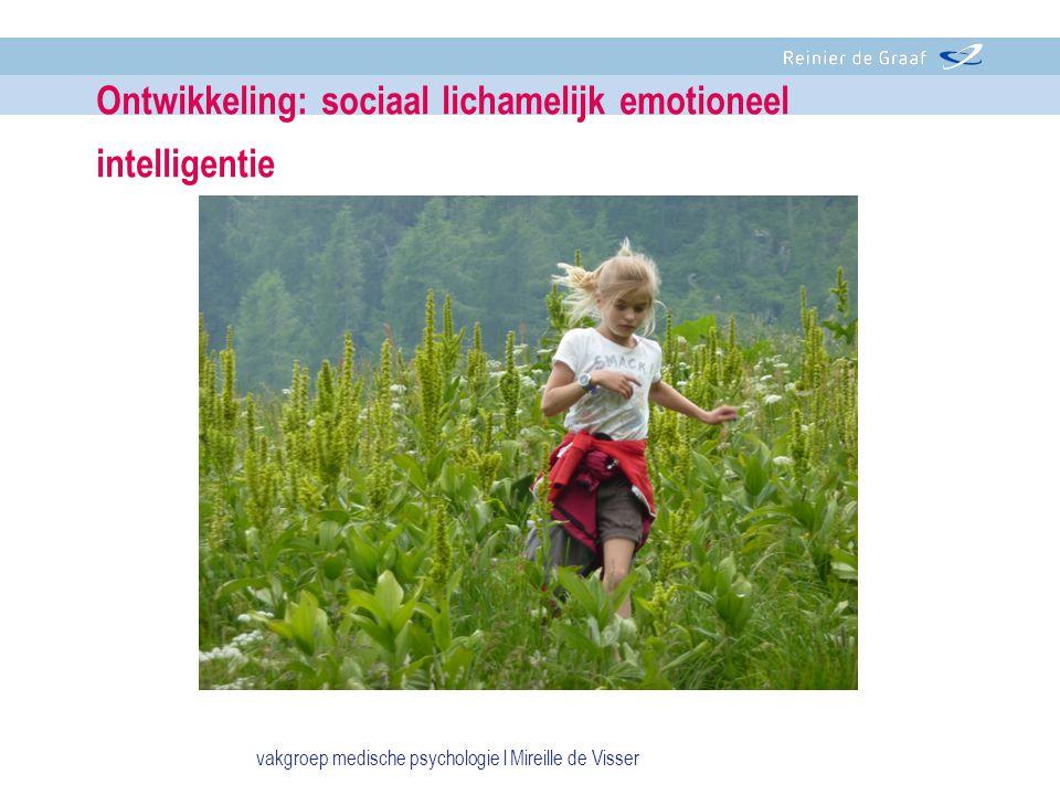 Ontwikkeling: sociaal lichamelijk emotioneel intelligentie