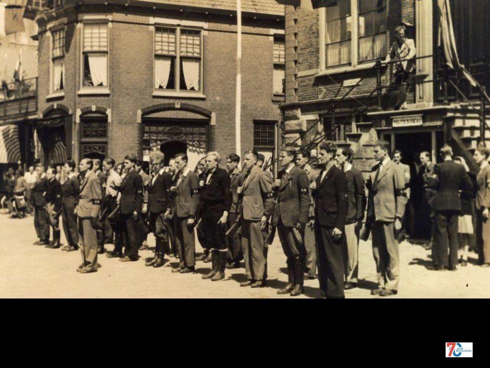 't resultaat van enige jaren onderduiken. 6 mei 1945
