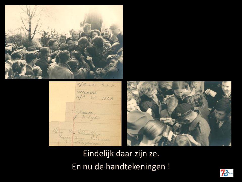De NSB-ers worden opgebracht 7 mei 1945