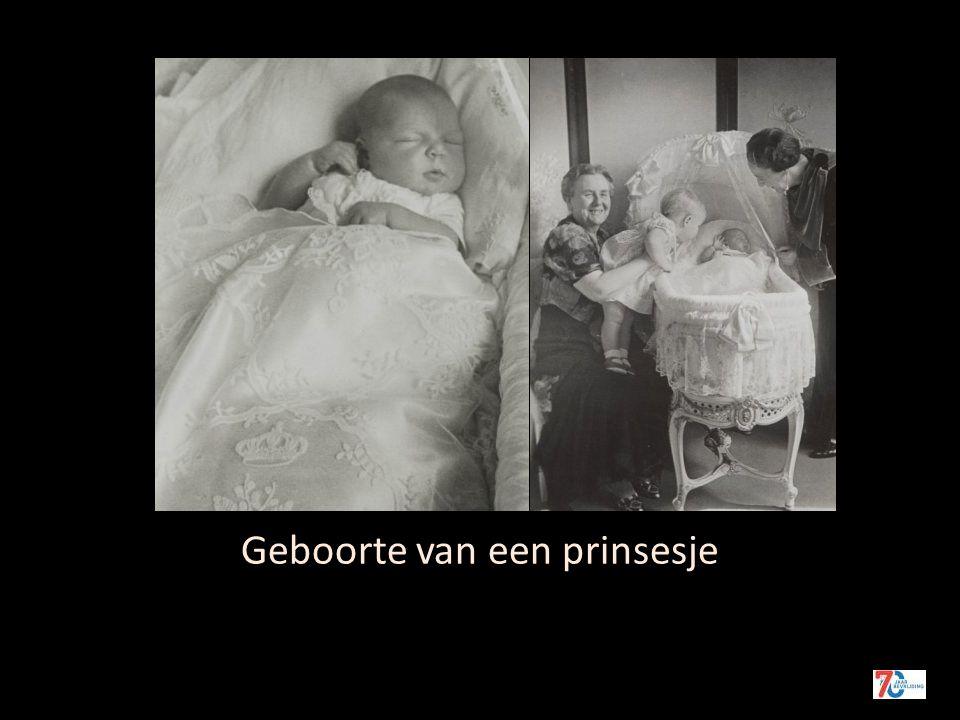 Geboorte van een prinsesje