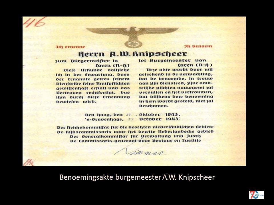 Burgemeester A.W. Knipscheer