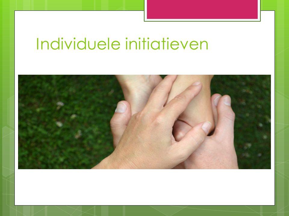Individuele initiatieven