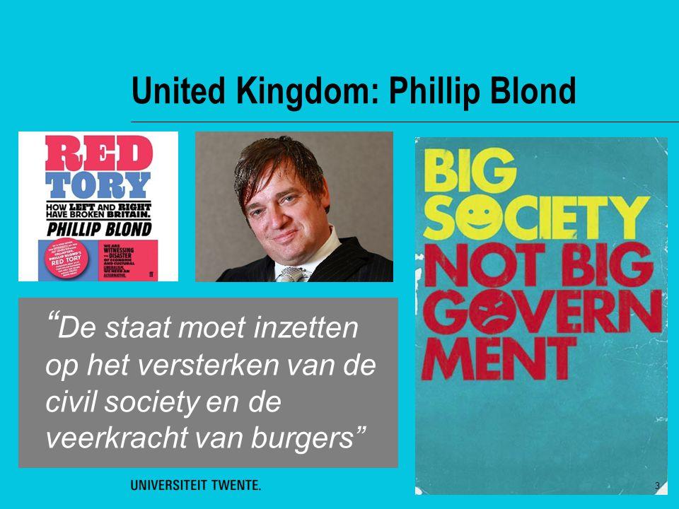 """United Kingdom: Phillip Blond """" De staat moet inzetten op het versterken van de civil society en de veerkracht van burgers"""" 3"""