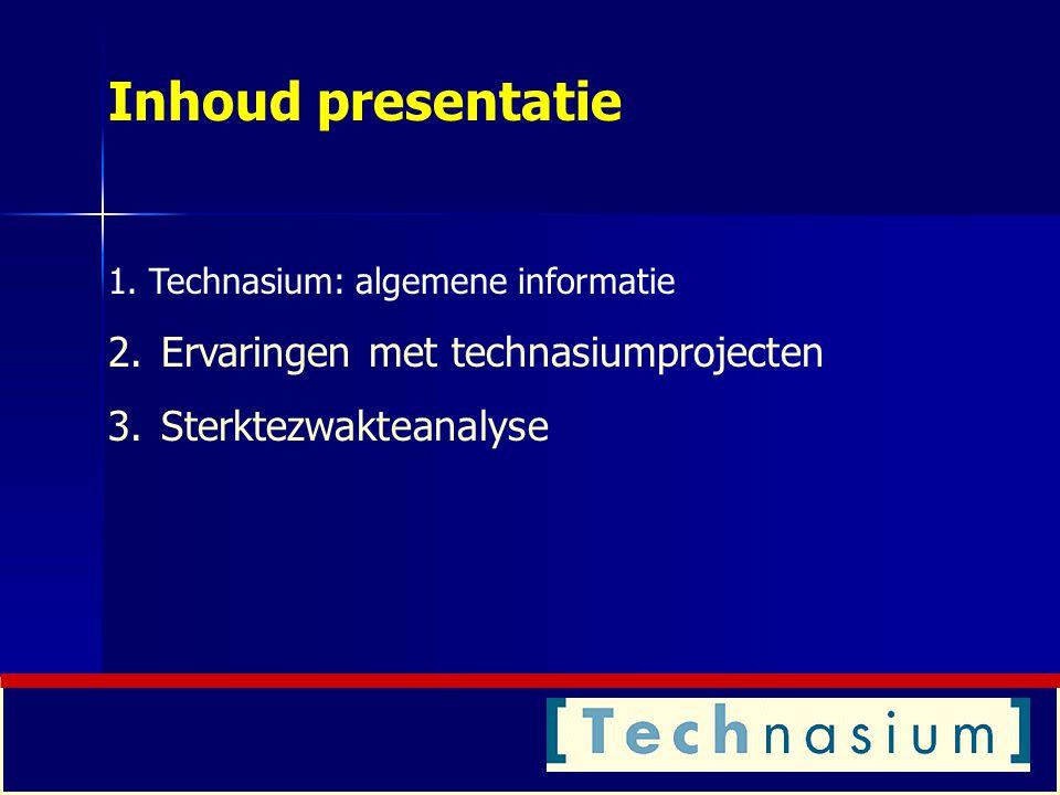Bespreking projecten aan de hand van presentaties van leerlingen (2) 'De aardappelreiniger' (specificaties) 'Multimediameubel' (een bijzondere technasiumopdracht) 'Voertuiggeleiding' (een andere invalshoek)