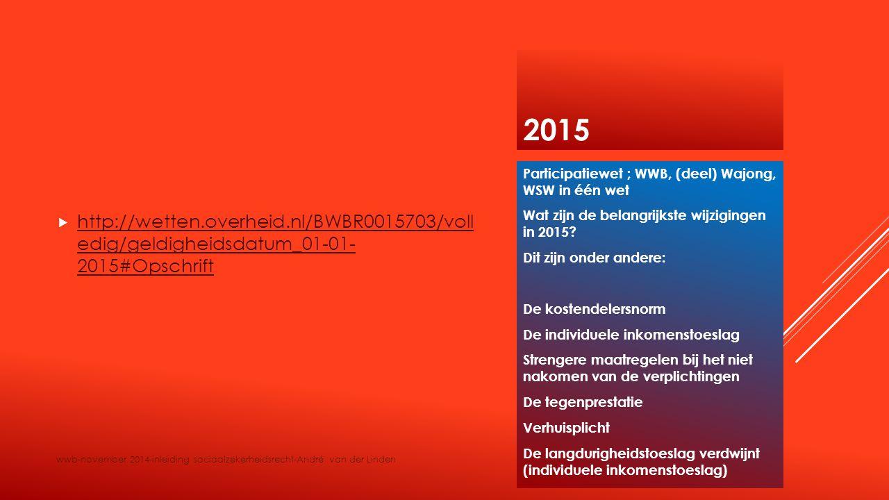 2015  http://wetten.overheid.nl/BWBR0015703/voll edig/geldigheidsdatum_01-01- 2015#Opschrift http://wetten.overheid.nl/BWBR0015703/voll edig/geldighe
