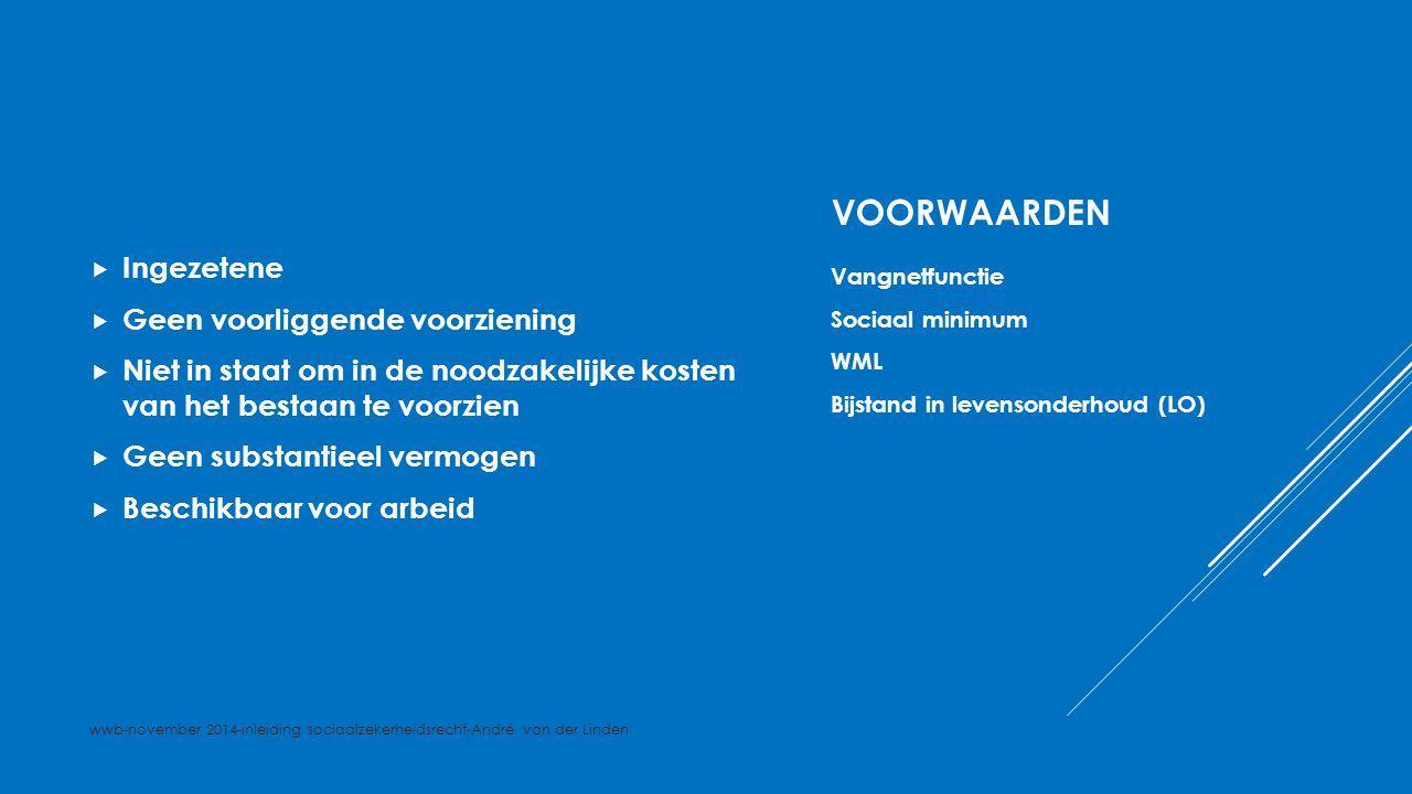 INGEZETENE  Legaal in Nederland verblijven  http://www.rijksoverheid.nl/onderwerpen/i mmigratie/vraag-en-antwoord/wat-is-de- koppelingswet.html?gclid=CMTsyr7k- sECFUF22wodoj8ALQ http://www.rijksoverheid.nl/onderwerpen/i mmigratie/vraag-en-antwoord/wat-is-de- koppelingswet.html?gclid=CMTsyr7k- sECFUF22wodoj8ALQ Vergunning / legale verblijfstatus Koppelingswet wwb-november 2014-inleiding sociaalzekerheidsrecht-André van der Linden