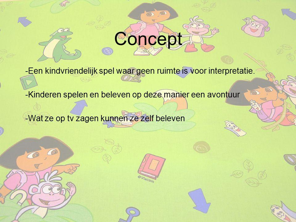 -Een kindvriendelijk spel waar geen ruimte is voor interpretatie. -Kinderen spelen en beleven op deze manier een avontuur -Wat ze op tv zagen kunnen z