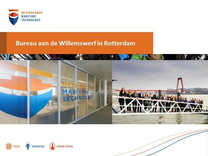 Bureau aan de Willemswerf in Rotterdam