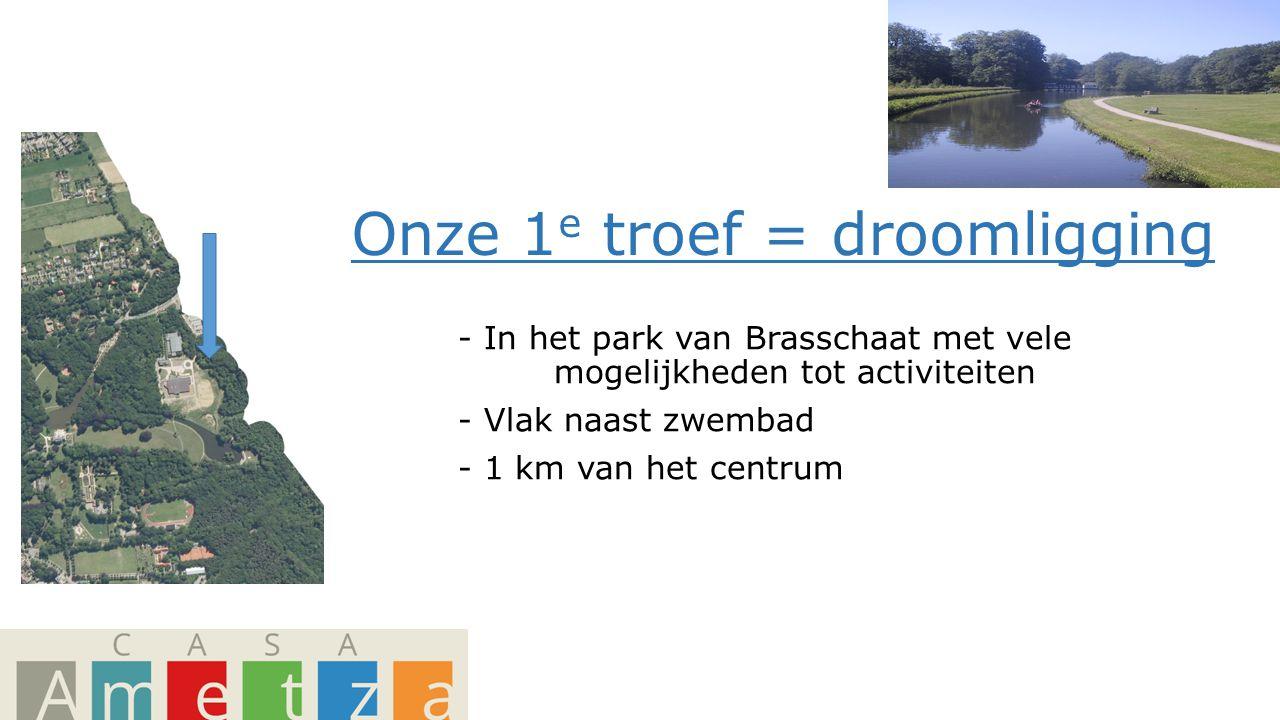 Onze 1 e troef = droomligging - In het park van Brasschaat met vele mogelijkheden tot activiteiten - Vlak naast zwembad - 1 km van het centrum