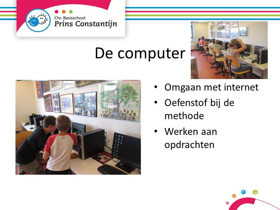 De computer Omgaan met internet Oefenstof bij de methode Werken aan opdrachten