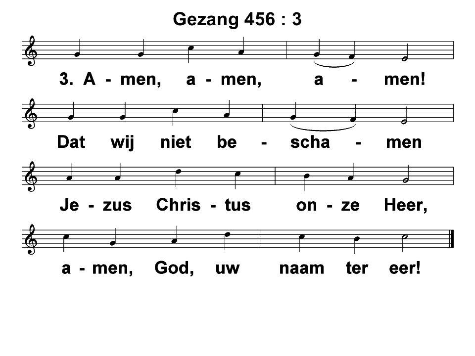 Gezang 456 : 3
