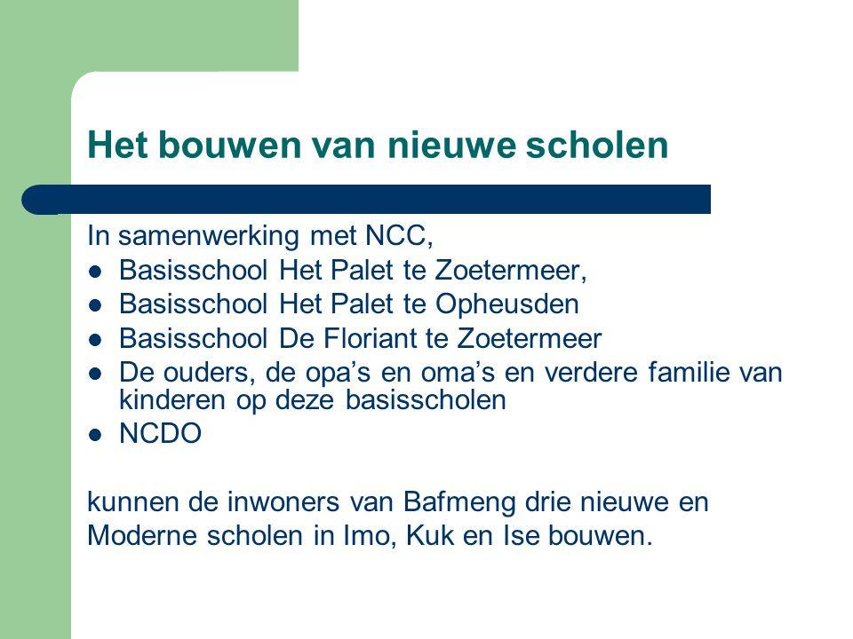 Het bouwen van nieuwe scholen In samenwerking met NCC, Basisschool Het Palet te Zoetermeer, Basisschool Het Palet te Opheusden Basisschool De Floriant