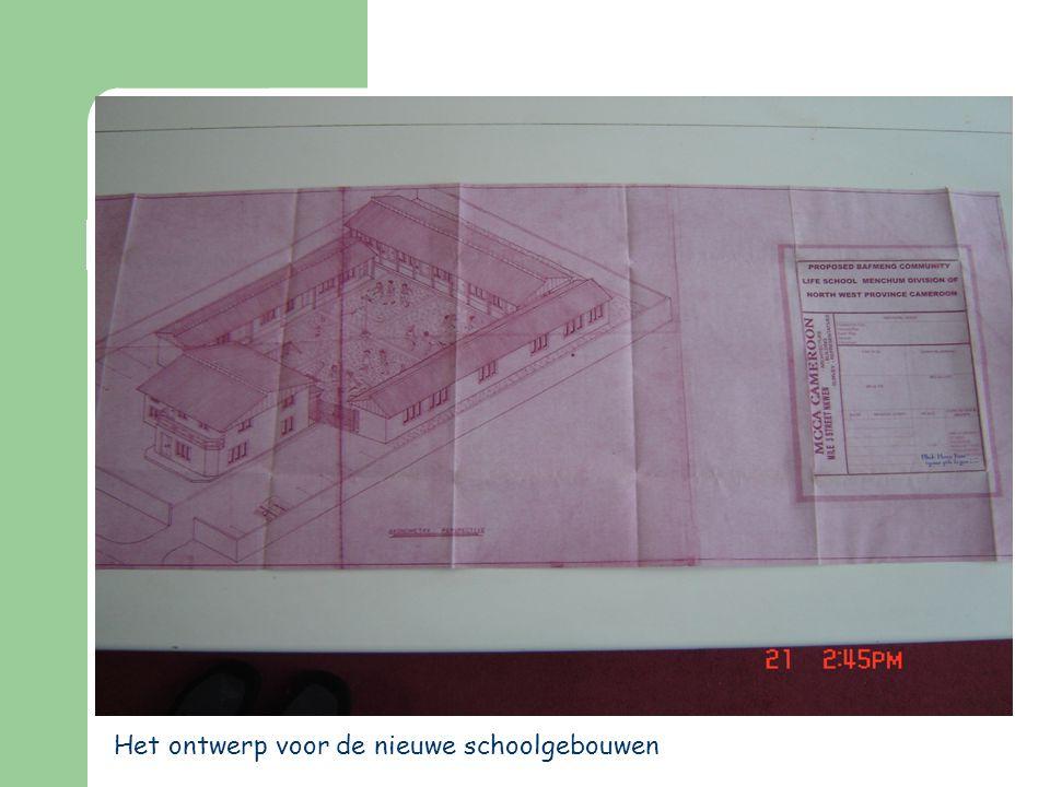 Het ontwerp voor de nieuwe schoolgebouwen