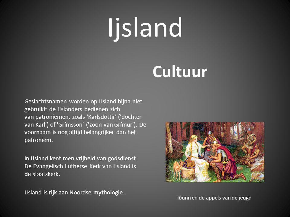 Ijsland Geslachtsnamen worden op IJsland bijna niet gebruikt: de IJslanders bedienen zich van patroniemen, zoals Karlsdóttir ( dochter van Karl ) of Grímsson ( zoon van Grímur ).