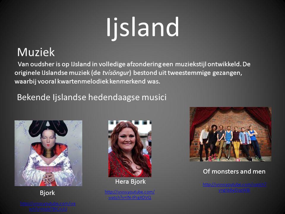 Ijsland Van oudsher is op IJsland in volledige afzondering een muziekstijl ontwikkeld.