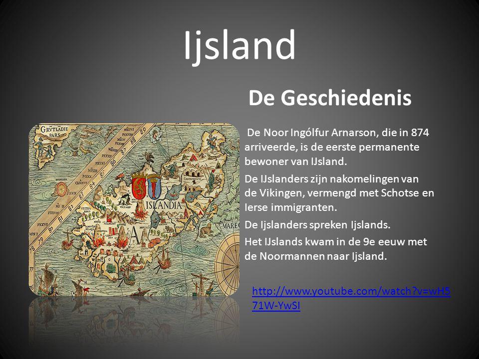 Ijsland Landschapskenmerken IJsland bestaat voor het overgrote deel uit laag- en middelgebergte.