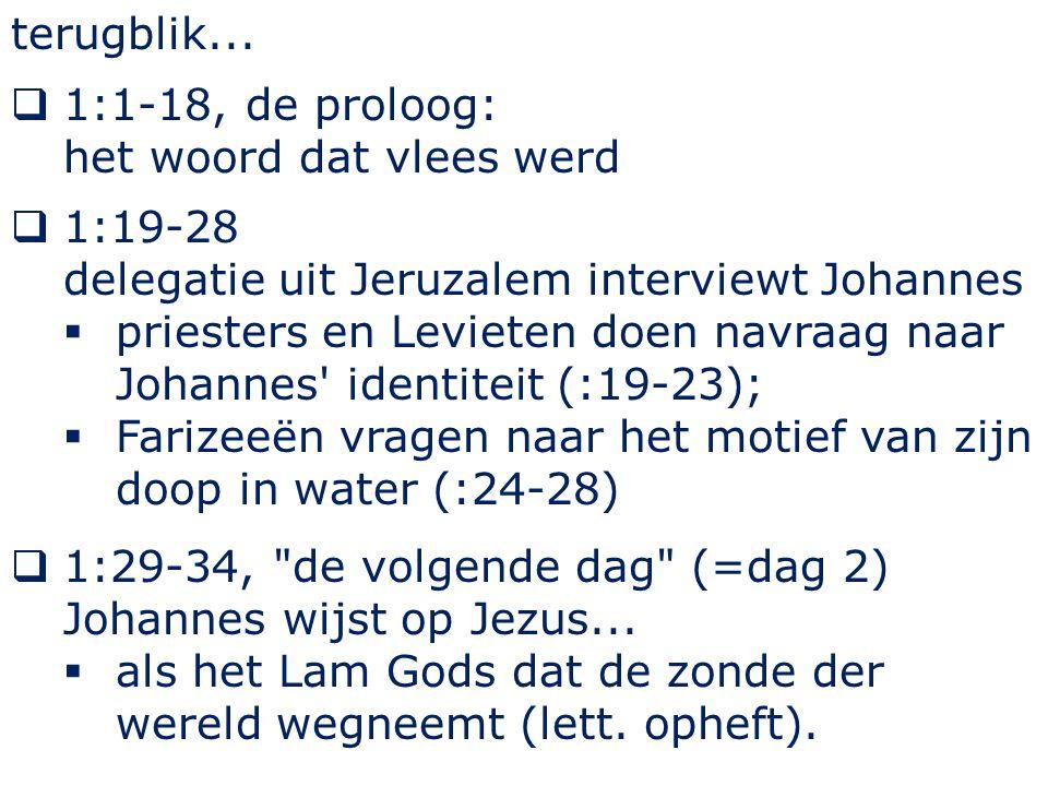 Johannes 1 31 En zelf wist ik niet van Hem, maar opdat Hij aan Israel zou geopenbaard worden, daarom kwam ik dopen met water.