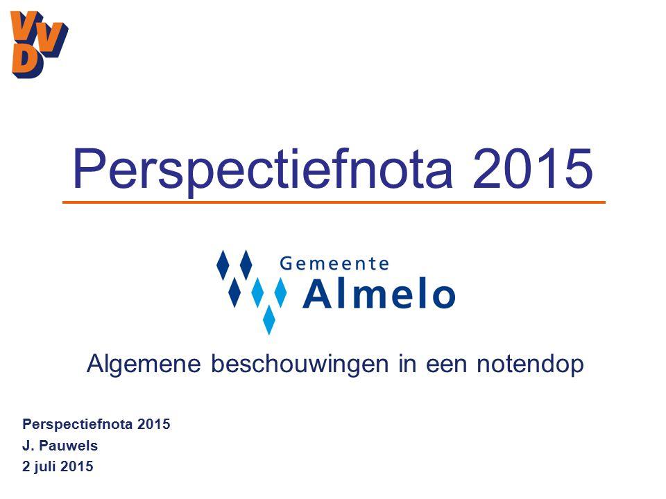 Perspectiefnota 2015 J.