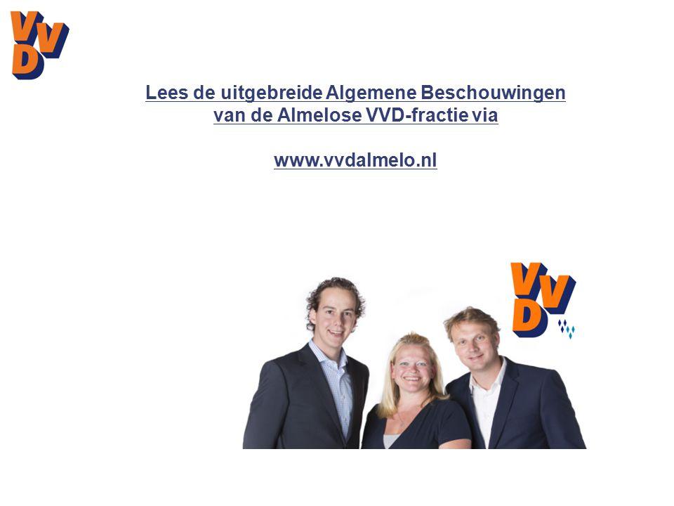 Lees de uitgebreide Algemene Beschouwingen van de Almelose VVD-fractie via www.vvdalmelo.nl