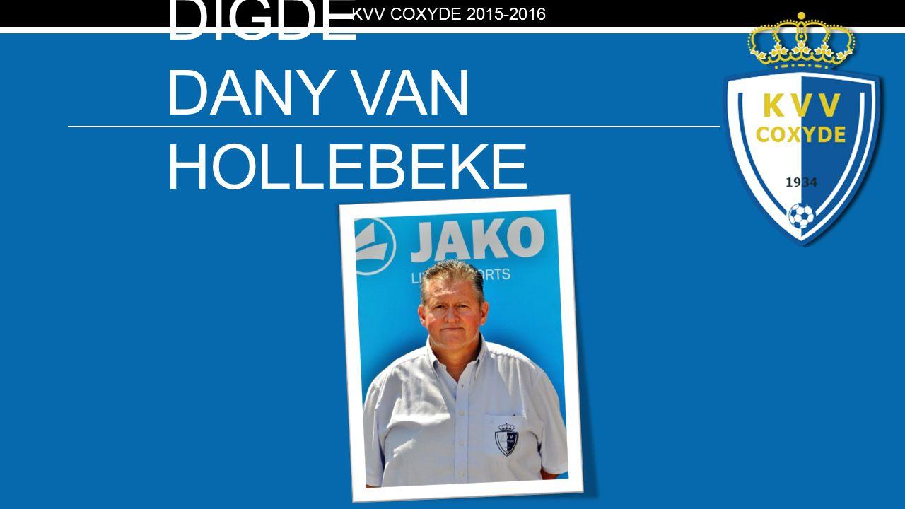 KV PLOEGAFGEVAAR DIGDE DANY VAN HOLLEBEKE KVV COXYDE 2015-2016
