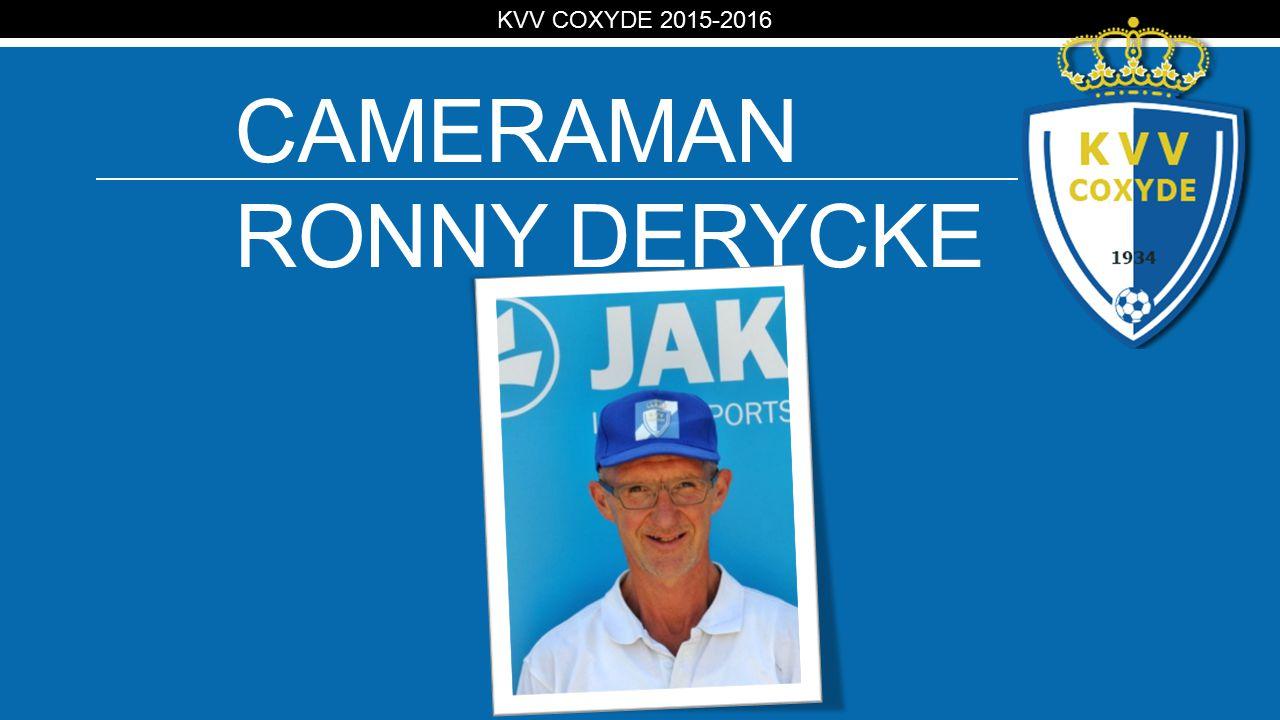 KV CAMERAMAN RONNY DERYCKE KVV COXYDE 2015-2016