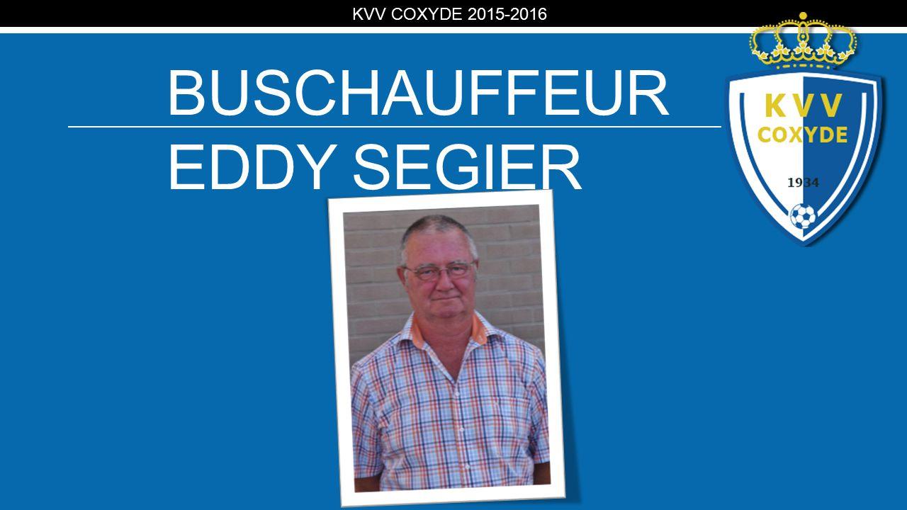KV BUSCHAUFFEUR EDDY SEGIER KVV COXYDE 2015-2016