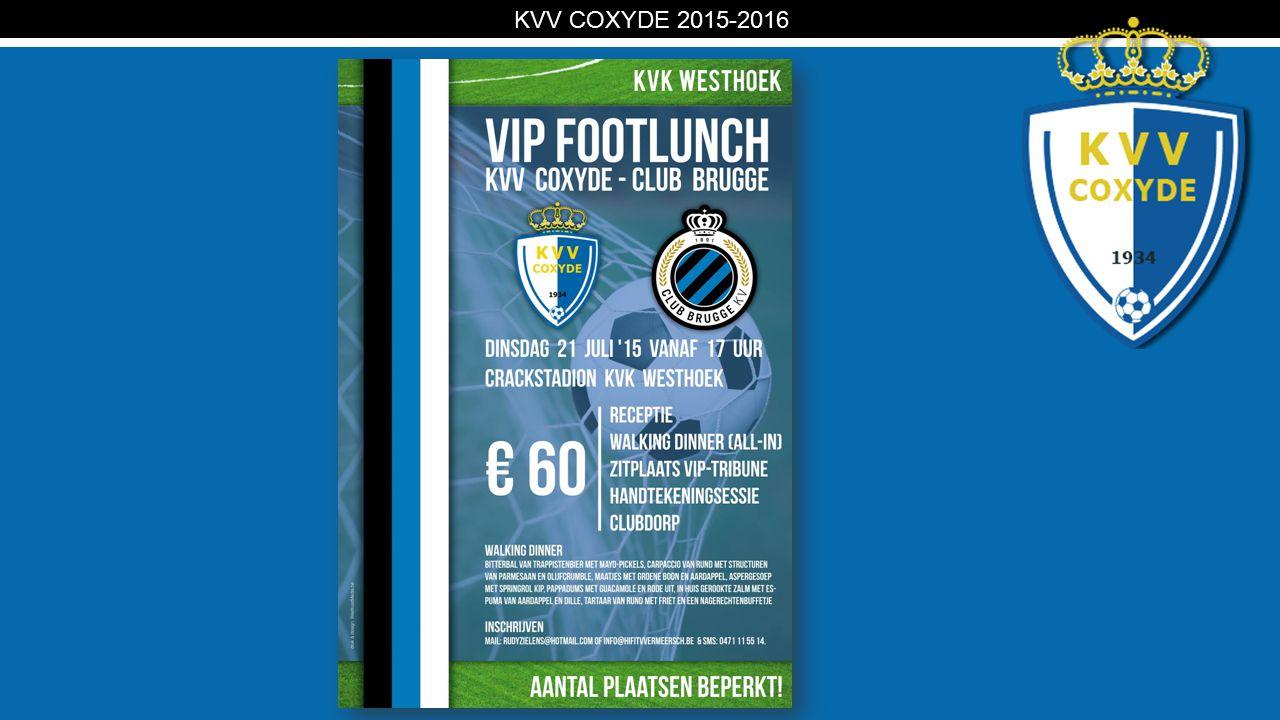 KV KVV COXYDE 2015-2016