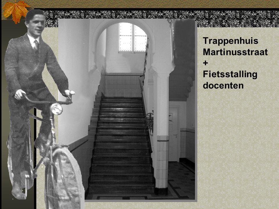Trappenhuis Martinusstraat + Fietsstalling docenten