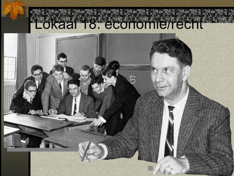 Lokaal 18: economie/recht