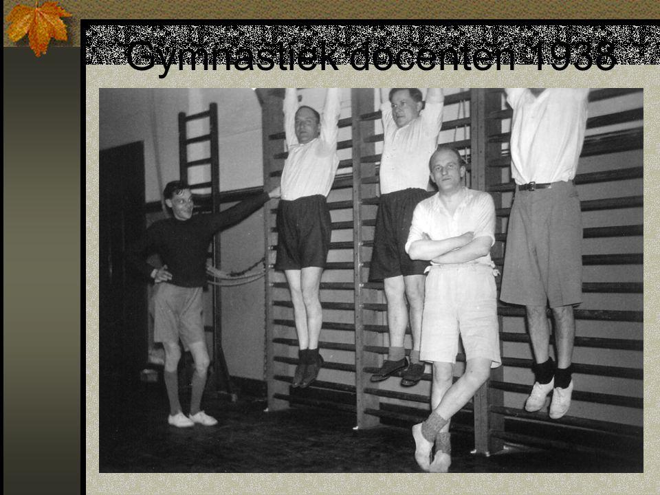Gymnastiek docenten 1938