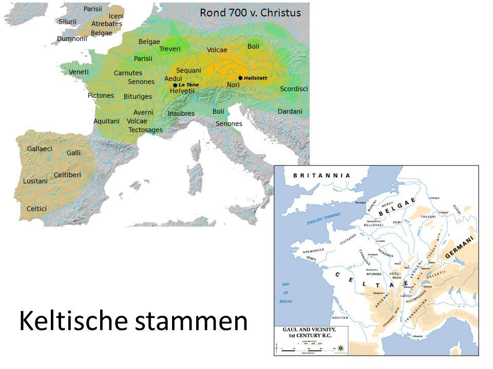 Keltische stammen Rond 700 v. Christus