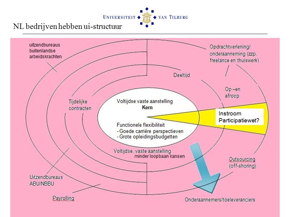 Flexibele schil en Wet werken naar vermogen NL bedrijven hebben ui-structuur Instroom Participatiewet?