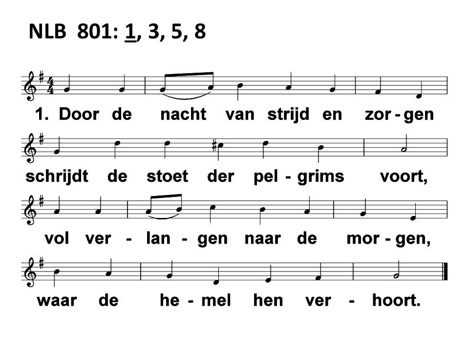 NLB 801: 1, 3, 5, 8