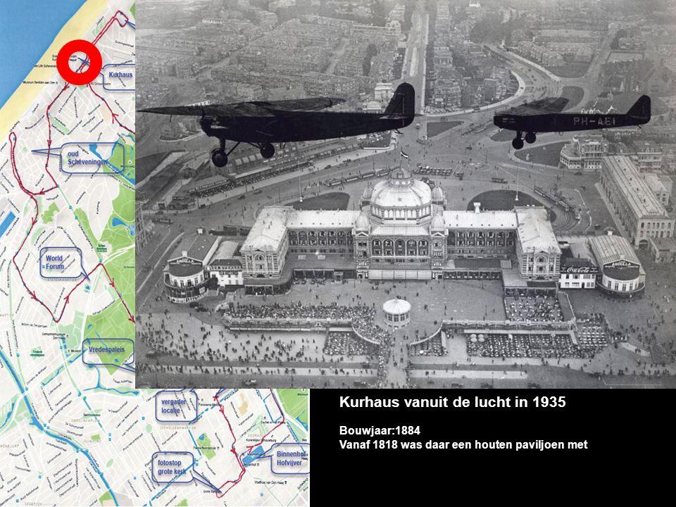Kurhaus vanuit de lucht in 1935 Bouwjaar:1884