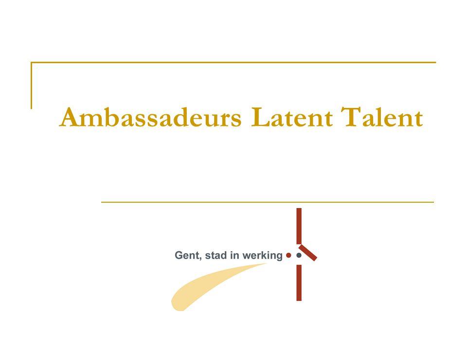 Ambassadeurs Latent Talent