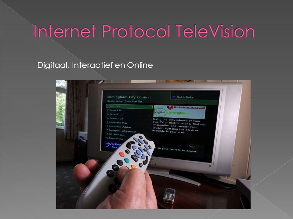 Digitaal, Interactief en Online