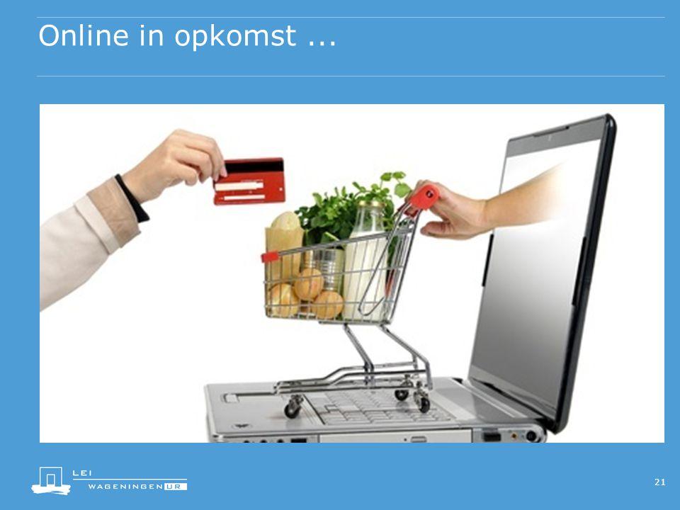Online in opkomst... 21