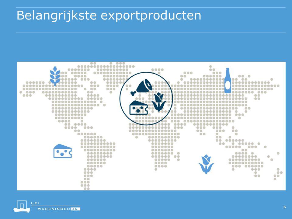 Belangrijkste exportproducten 6