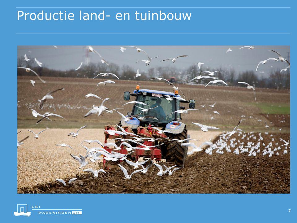 Productie land- en tuinbouw 7