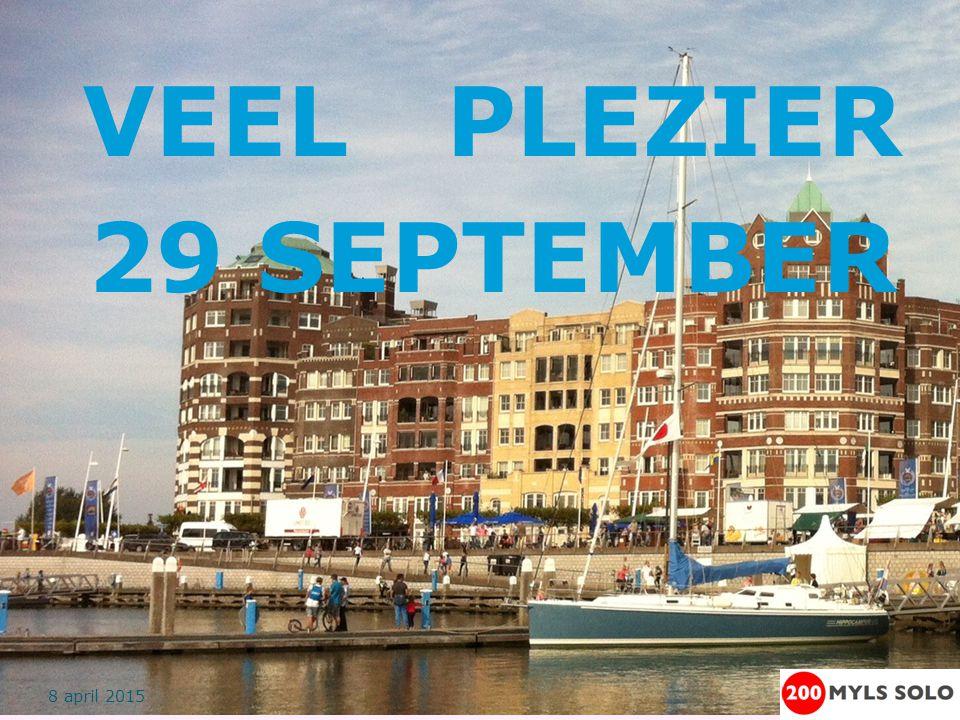 Finish Logboek en GPS-Unit inleveren bij wedstrijdleider VOOR 14.00 uur zondag 4 oktober Geen finishschip Op eigen kracht naar Bataviahaven varen Finish zondag voor 12.00 uur.