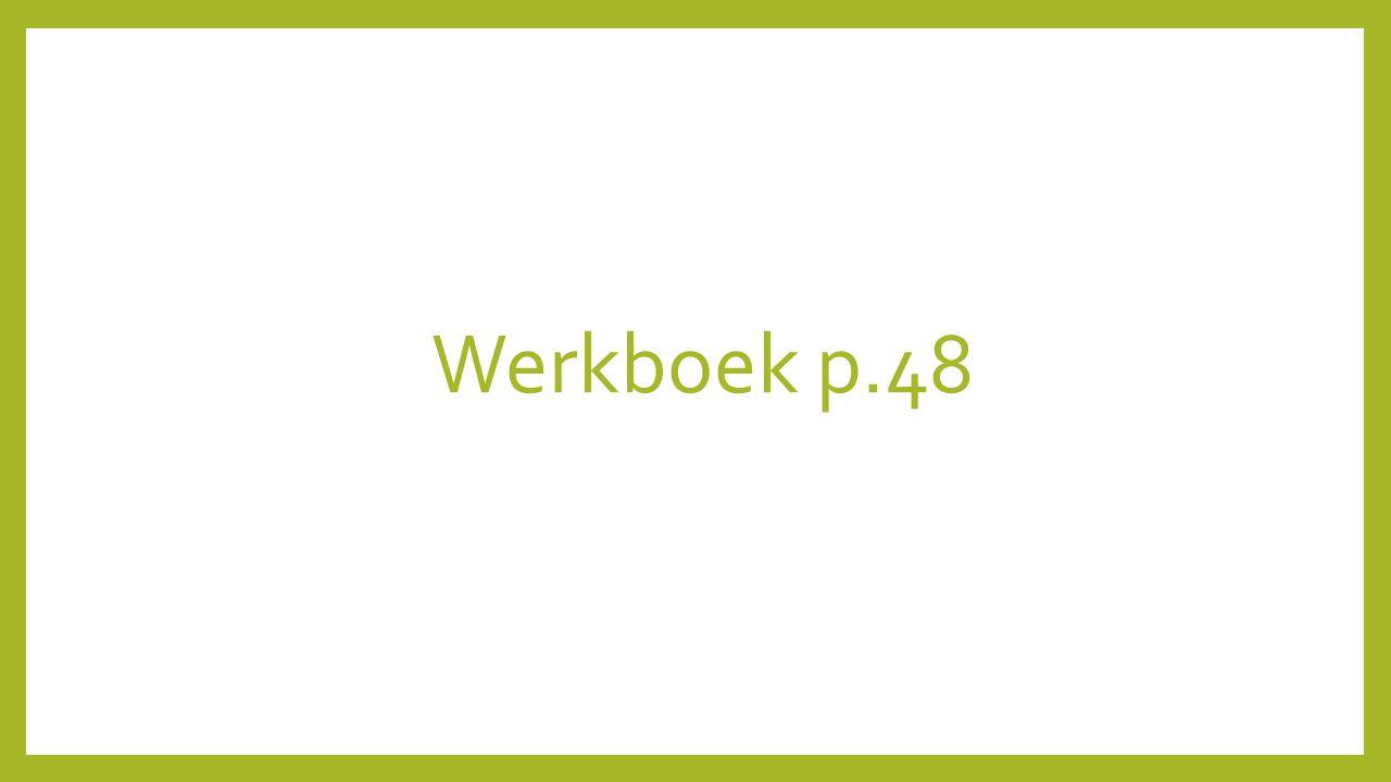 Werkboek p.48