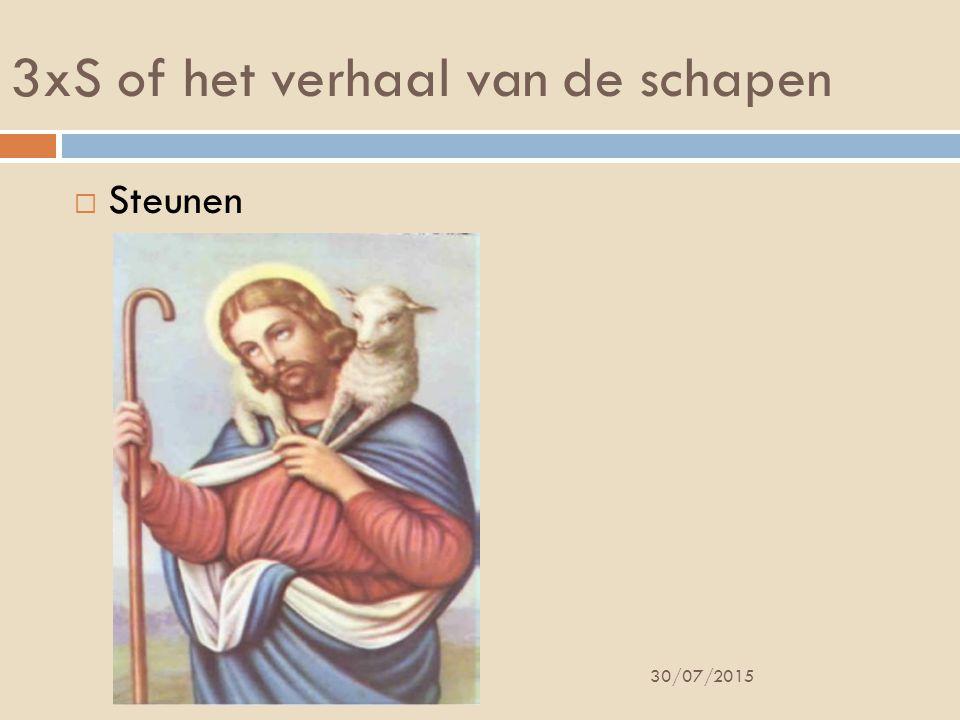 3xS of het verhaal van de schapen  Steunen 30/07/2015