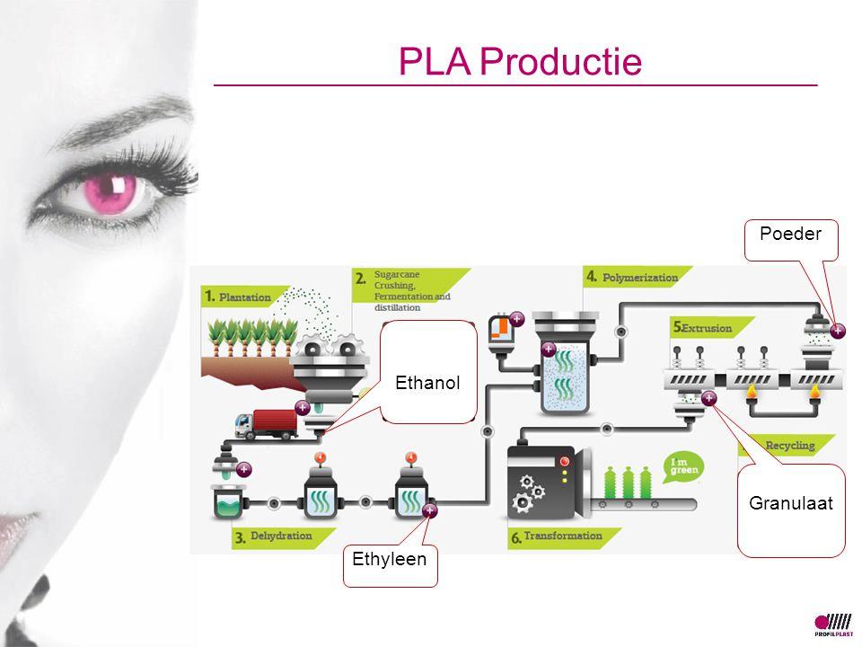 PLA Productie Ethanol Ethyleen Poeder Granulaat