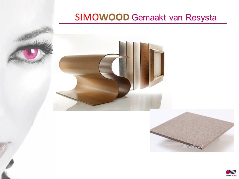 SIMOWOOD Gemaakt van Resysta