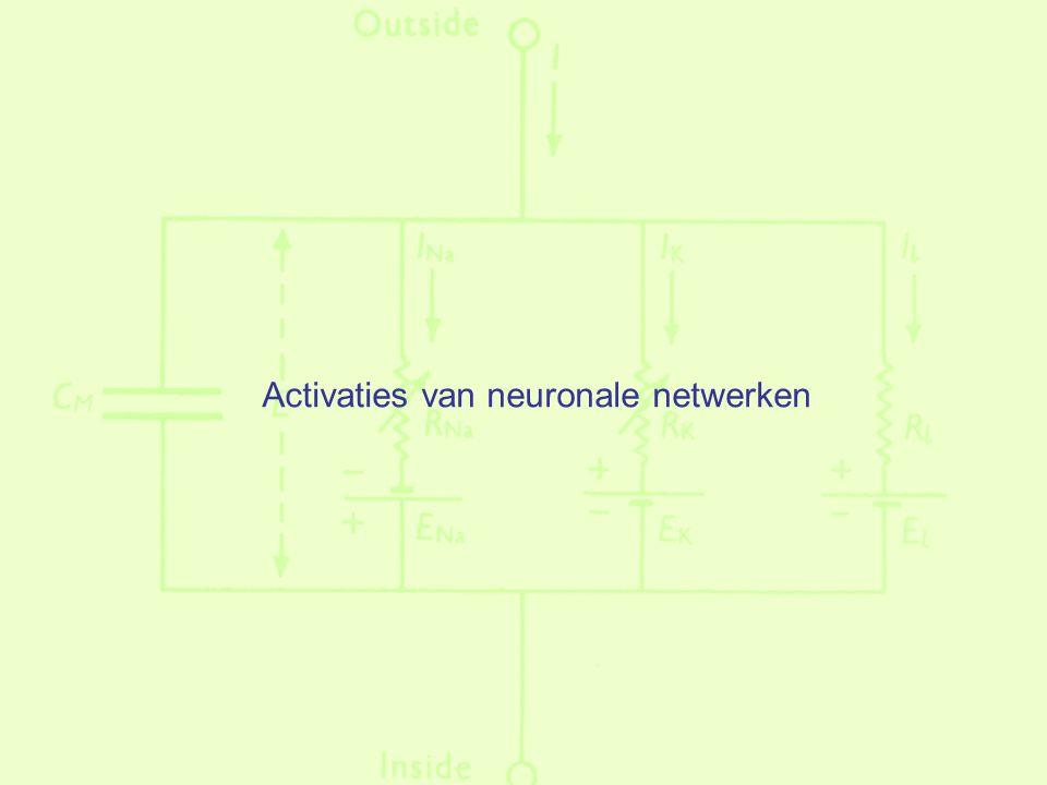 Activaties van neuronale netwerken