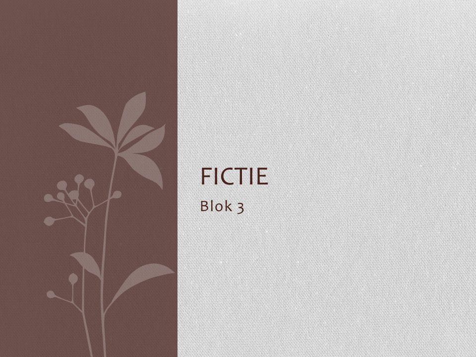 Blok 3 FICTIE