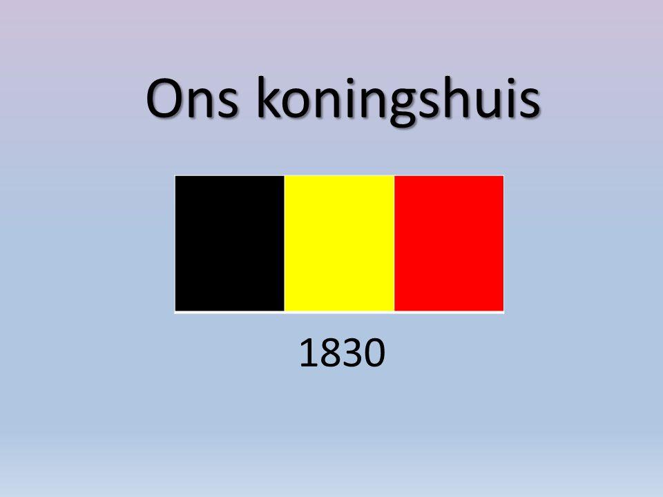 Ons koningshuis 1830