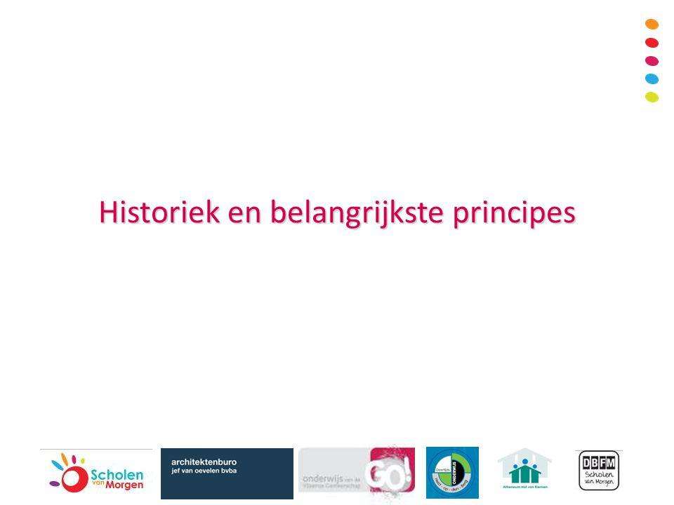Historiek en belangrijkste principes